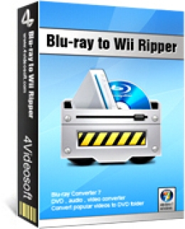 4Videosoft Blu-ray to Wii Ripper