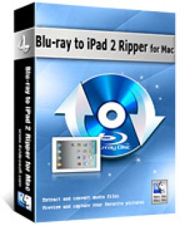 4Videosoft Blu-ray to iPad 2 Ripper for Mac
