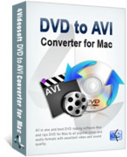 4Videosoft DVD to AVI Converter for Mac