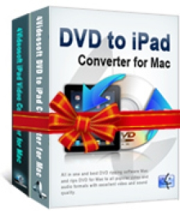 4Videosoft DVD to iPad Suite for Mac