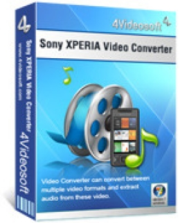 4Videosoft Sony XPERIA Video Converter