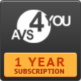 AVS4YOU One Year Subscription