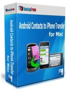 Backuptrans Android Contacts to iPhone Transfer for Mac (Family Edition)
