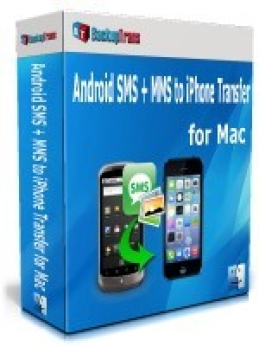 Backuptrans Android SMS + MMS to iPhone Transfer for Mac (Personal Edition)