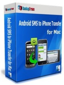 Backuptrans Android SMS to iPhone Transfer for Mac (One-Time Usage)