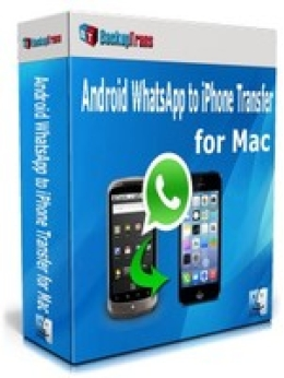 Backuptrans Android WhatsApp to iPhone Transfer for Mac (Family Edition)