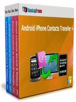 Backuptrans Android iPhone Contacts Transfer + (Family Edition)