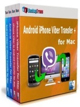 Backuptrans Android iPhone Viber Transfer + for Mac (Family Edition)