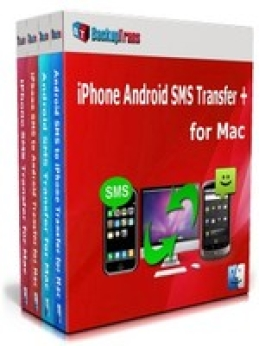 Backuptrans iPhone Android SMS Transfer + for Mac (Family Edition)