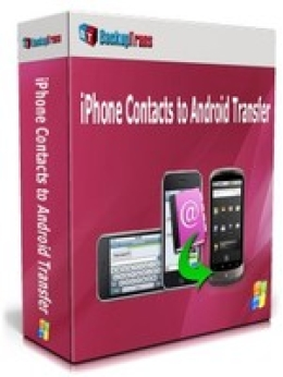 Backuptrans iPhone Contacts to Android Transfer (One-Time Usage)