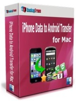Backuptrans iPhone Data to Android Transfer for Mac (Family Edition)
