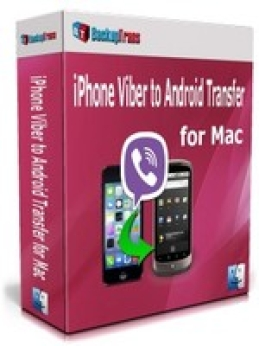 Backuptrans iPhone Viber to Android Transfer for Mac (Family Edition)