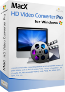 MacX HD Video Converter Pro for Windows (+ Free Gift)