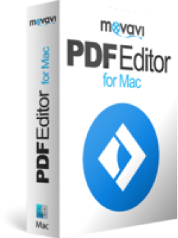 Movavi PDF Editor for Mac