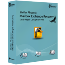 Stellar Phoenix Mailbox Exchange Recovery (Includes Shipping)