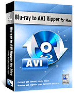4Videosoft Blu-ray to AVI Ripper for Mac