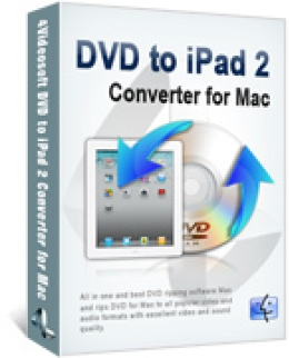 4Videosoft DVD to iPad 2 Converter for Mac