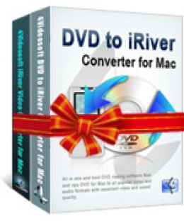 4Videosoft DVD to iRiver Suite for Mac