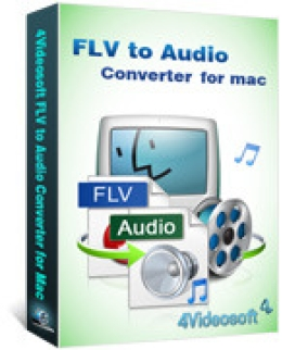 4Videosoft FLV to Audio Converter for Mac
