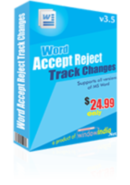Accept Reject Track Changes