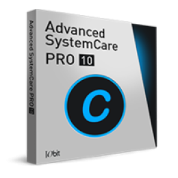 Advanced SystemCare 10 PRO with IObit Uninstaller PRO
