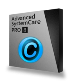 Advanced SystemCare 8 PRO (2 years subscription with giftpack)