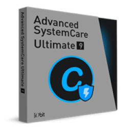 Advanced SystemCare Ultimate 9 (un an dabonnement 1 PC)