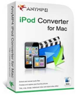 AnyMP4 iPod Converter for Mac Lifetime
