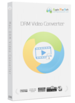 AppleMacSoft DRM Video Converter for Mac
