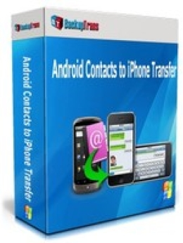 Backuptrans Android Contacts to iPhone Transfer (One-Time Usage)