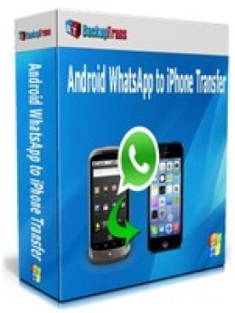 Backuptrans Android WhatsApp to iPhone Transfer (Personal Edition)