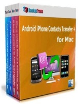 Backuptrans Android iPhone Contacts Transfer + for Mac (Family Edition)
