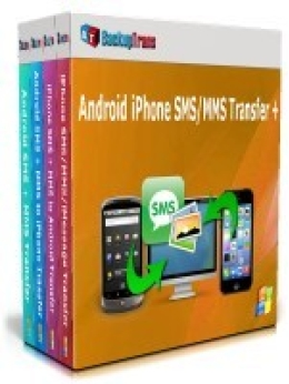 Backuptrans Android iPhone SMS/MMS Transfer + (Family Edition)