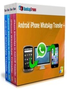 Backuptrans Android iPhone WhatsApp Transfer +(Business Edition)