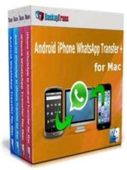 Backuptrans Android iPhone WhatsApp Transfer + for Mac(Family Edition)