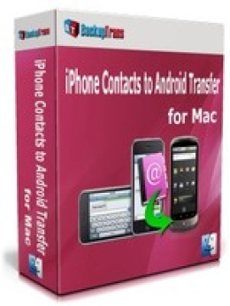 Backuptrans iPhone Contacts to Android Transfer for Mac (Family Edition)
