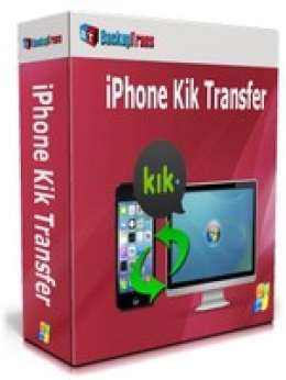 Backuptrans iPhone Kik Transfer (Business Edition)