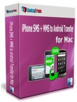 Backuptrans iPhone SMS + MMS to Android Transfer for Mac (Business Edition)