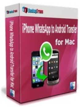 Backuptrans iPhone WhatsApp to Android Transfer for Mac(Family Edition)