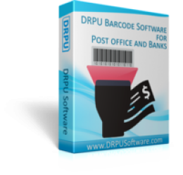 DRPU Post Office and Bank Barcode Label Maker Software