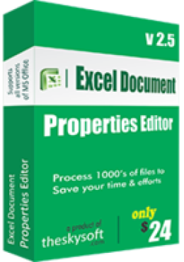 Excel Document Properties Editor