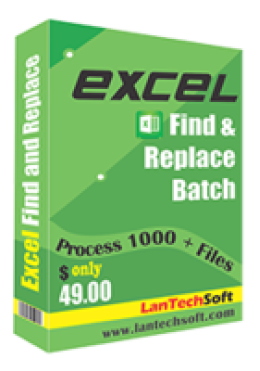 Excel Find and Replace Batch
