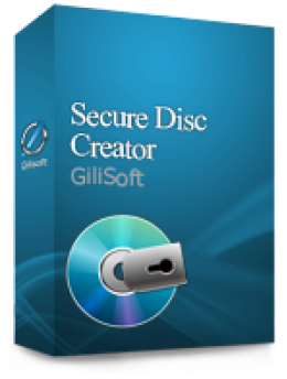 Gilisoft Secure Disc Creator (1 PC)