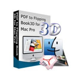 PDF to Flipping Book 3D for Mac Pro