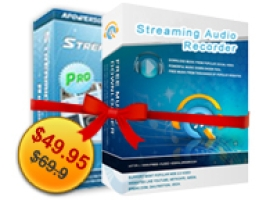 Streaming Video Recorder + Streaming Audio Recorder Personal License