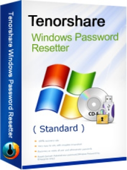 Tenorshare Windows Password Reset Standard
