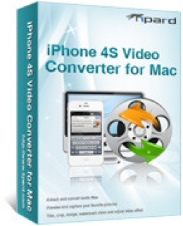 Tipard iPhone 4S Video Converter for Mac
