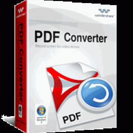 Wondershare PDF Converter for Windows (Lifetime)