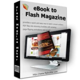 eBook to Flash Magazine
