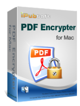 iPubsoft PDF Encrypter for Mac